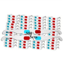 [macyskorea] 3Dstereo Glasses 3D Red/Cyan Anaglyph Cardboard Glasses -500 Pair UNFOLDED - /8748296