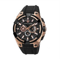 Charles Jourdan Chronograph CJ1015-1542C Jam Tangan Pria - Rose Gold