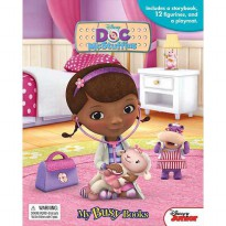 [Hellopandabooks] My Busy Book Disney Doc McStuffins includes a Storybook, 12 Disney Figurines