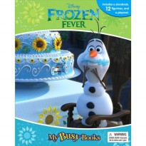 [Hellopandabooks] My Busy Book Disney Frozen Fever (Olaf) includes a Storybook, 12 Disney Figurines