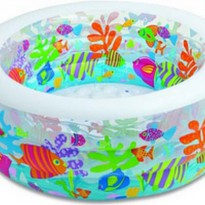 INTEX AQUARIUM POOL (152x56cm) KOLAM RENANG ANAK