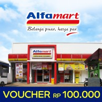 [Voucher] Alfamart Rp50.000 x 2 pcs ,Value Voucher