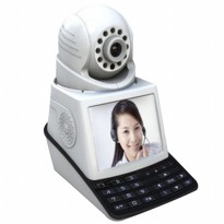 2CU IP Camera 4in1 (Security Alarm,Video Call,Monitoring Camera,CCTV)