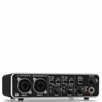 BEHRINGER U-PHORIA UMC202HD USB AUDIO INTERFACE WITH MIDAS MICROPHONE PREAMPLIFIERS
