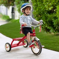 Sepeda Anak Radio Flyer Classic Red Dual Deck Tricycle