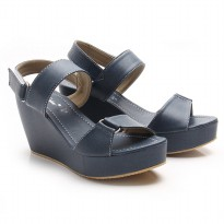 Dr.Kevin Wedges Sandal Canvas 26117 Grey