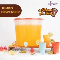 Jumbo Dispenser Hrg Normal: Rp. 385.000 Twintulipware/Tupperware