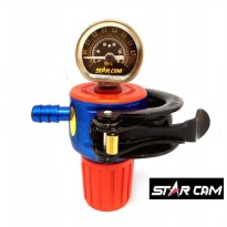 Starcam Hp Meter Regulator Gas Tt-202M Tekanan Tinggi Star Cam High Pr