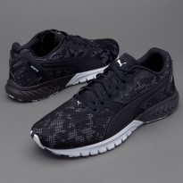 Puma Ignite Dual Camo Black White Men Running Shoes Sneakers Trainers 18901101