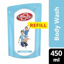 LIFEBUOY SABUN CAIR COOL FRESH REFILL 450ML