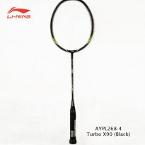 Li-Ning Badminton Racket Turbo X 90 black tanpa free