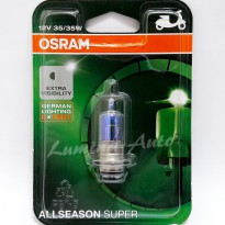Osram All Season Super Moto M5 Kaki 1 35/35 Watt - Lampu Motor Warna Kuning / Yellow