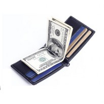 Money Clip card Holder Coin Wallet Kulit Asli GBT