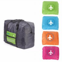HAND CARRY AND FOLDABLE CABIN TRAVEL BAG/TAS KOPER TRAVEL LIPAT-1 PCS