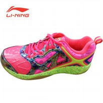 Li-Ning Badminton Shoes Lotus – Pink Lotus Pink Sz 45