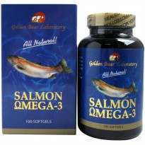 Golden Bear Laboratory Salmon Omega 3 Fish Oil - 100 SoftGels