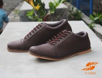 D - Island shoes casual creamy brown PU Leather