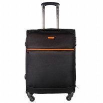 Polo Club TSA05149 Koper 24 inch - Black Strip Orange