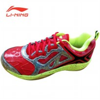 Li-Ning Badminton Shoes Lotus – Red Lotus Red Sz 41
