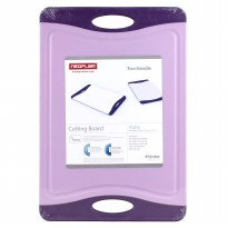 Neoflam Flutto Cutting Board Two Handle Purple