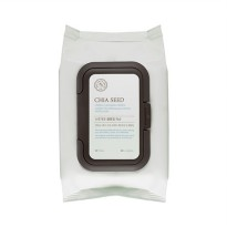 (TheFaceShop) Chia seed fresh cleansing wipes (50wipes)
