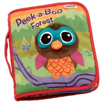 Jolly Baby Peek-a-boo Forest Cloth Book
