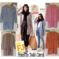 Poketto Twist Cardigans