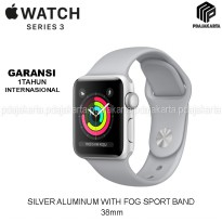 Apple Watch Series 3 GPS 38mm Silver Aluminum With Fog Sport Band