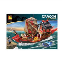 Oxford RED DRAGONSHIP