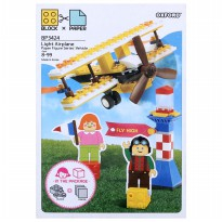 Oxford BLOCK  PAPER LIGHT - AIRPLANE  - BP3424