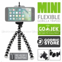 Octopus Gorilla SMALL Mini Tripod With Universal Holder U For Smartphones / HP