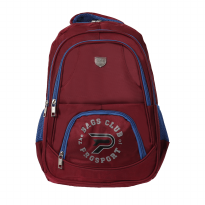 Prosport Backpack 2855-21 Red-Blue