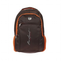 Prosport Backpack 2872-21 Coffee-Orange