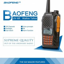 Baofeng UV6R Walkie Talkie 8W / HT 128CH UV 6R Taffware Original