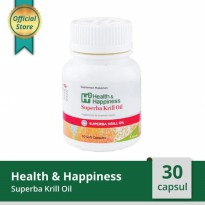 H2 Health & Happiness Superba Krill Oil - Isi 30 Softgel