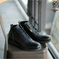 sepatu boots kenzio california kulit full up