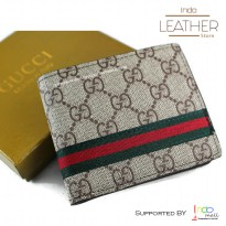 Dompet Kulit Pria Trifold Import
