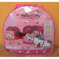 Tenda Terowongan Anak - Hello Kitty / Tenda Anak