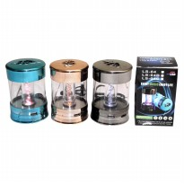 SPEAKER LENTERA Mp3 PLAYER FLASHDISK MEMORY CARD BATERAI RADIO DIGITAL