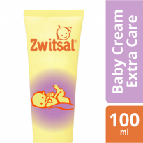 Zwitsal Baby Cream Extra Care Zinc  - 100ml