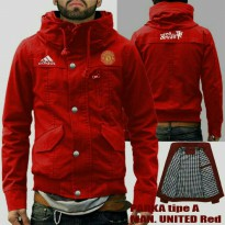 JAKET PARKA TYPE A MU RED
