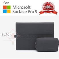 Microsoft Surface Pro 5 2017 - Bestchoi Slim Leather Flip Case Cover