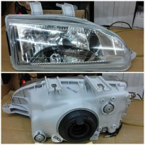 217-1111PXLD Headlamp Civic Genio/ Estilo 92-95 Crystal Chrome KACA