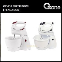 [PROMO OXONE] Oxone Electric Hand Mixer With Bowl & Stand OX-833