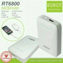 powerbank robot rt6800 6600mah real vivan
