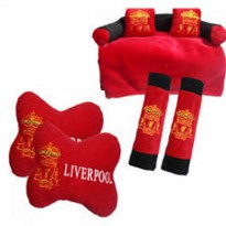 Bantal Mobil Exclusive 3 in 1 Club Liverpool