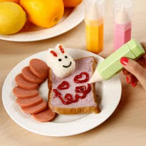 Food Drawing Pen bento nasi spidol pewarna art decorating kitchen mold