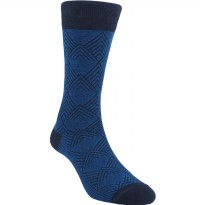 Kaos Kaki Marel Socks Life Style Men Floral Plain MC1P-16-MS026 Navy/Black