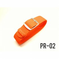 [PR-02] Perlon Strap Orange | Tali Jam, Watch Strap, Strap Jam