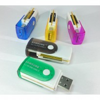 Memory Card Reader All in One | 2.0 USB built-in high speed
